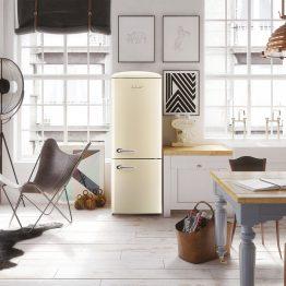 cream refrigerator