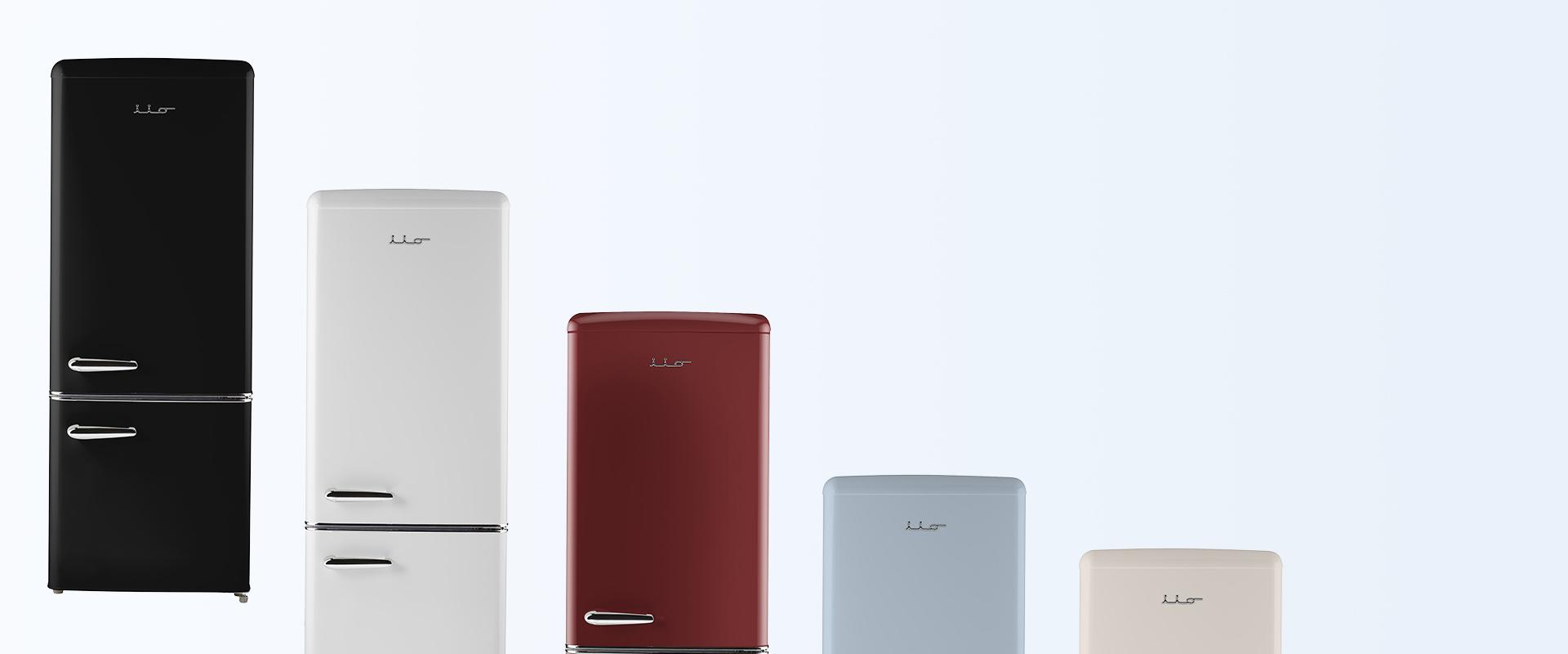 energy efficient retro refrigerators