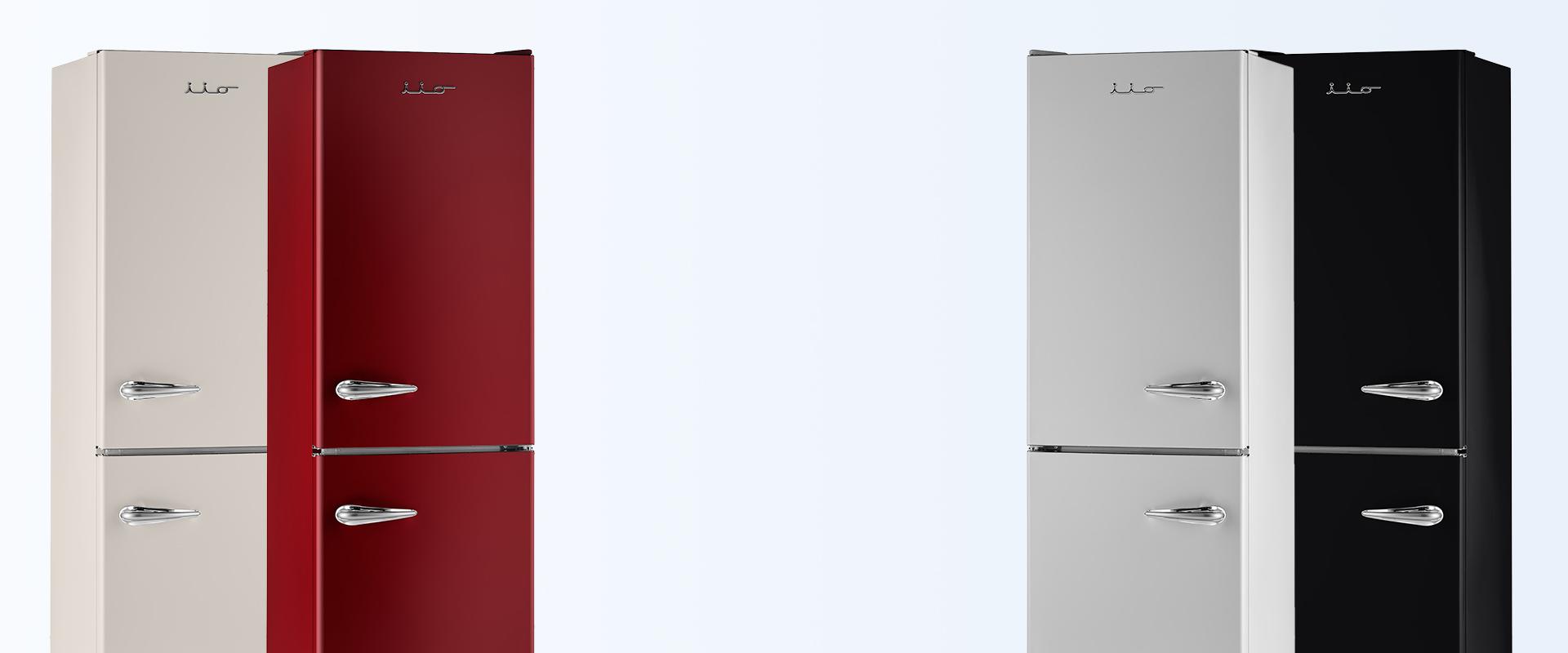 retro mod refrigerators for sale